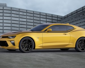2016 Chevrolet Camaro Yellow