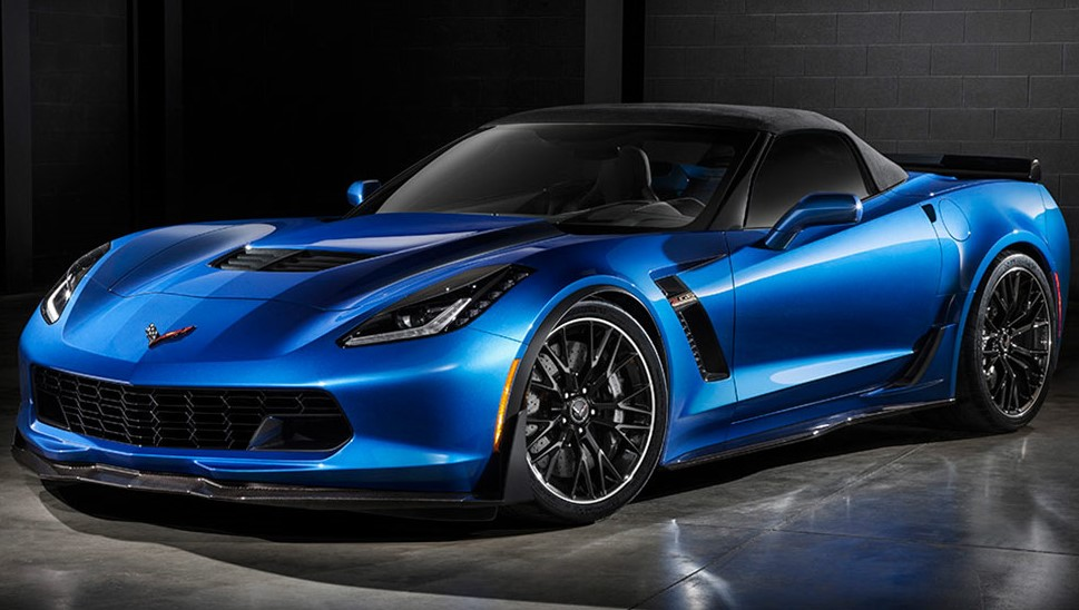 2016 Chevrolet Corvette Z06 Blue Preview