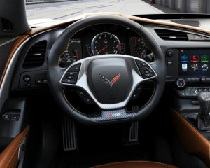 2016 Chevrolet Corvette Z06 Cockpit Interior