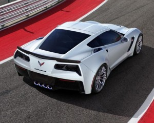 2016 Chevrolet Corvette Z06 Rear Side Photo