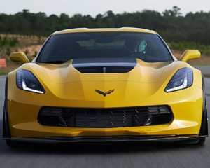 2016 Chevrolet Corvette Z06 on Track