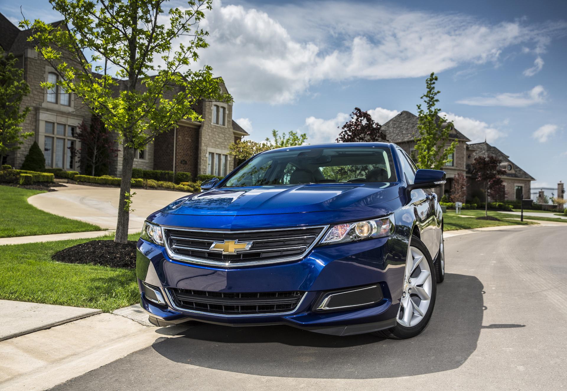 2016 Chevrolet Impala Blue Front Design