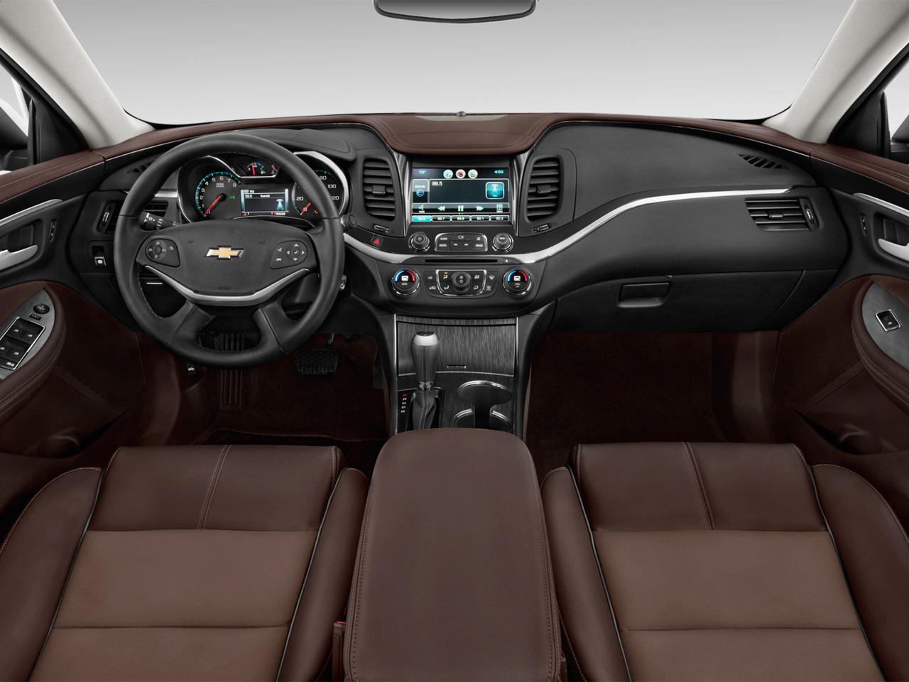 2016 Chevrolet Impala Dashboard Interior