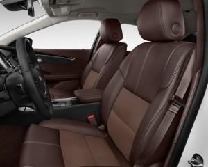 2016 Chevrolet Impala Front Seats Interior