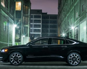 2016 Chevrolet Impala Midnight Edition Side Angle