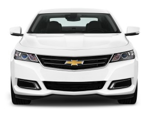 Chevrolet Impala White Front End Photo
