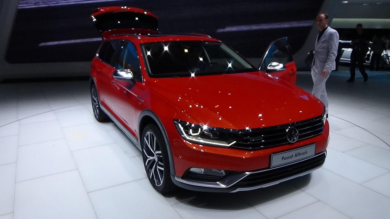 2016 Volkswagen Passat Alltrack Exterior Preview Auto Show