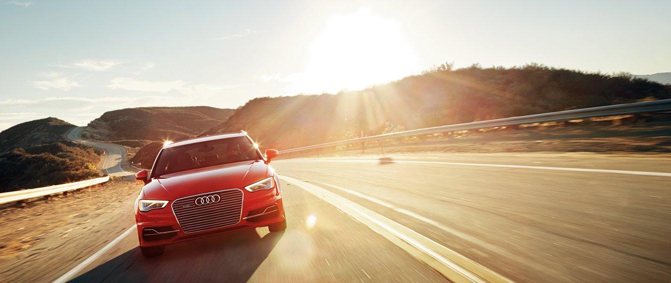 Audi A3 e-Tron Front View Model