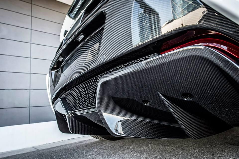 McLaren 650S Spider Nürburgring 24H Rear Carbon
