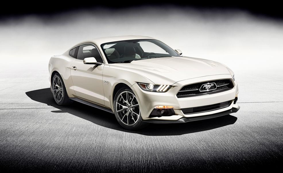 new release of carThe Release Of New Ford Mustang GT To Celebrate The 50th