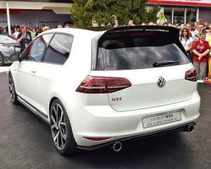 New Volkswagen Golf GTI Clubsport Rear Design