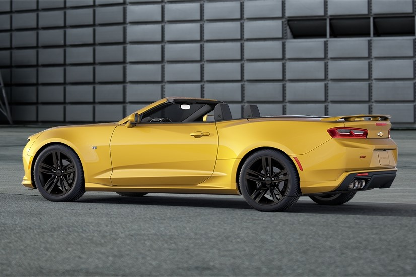 Next 2016 Chevrolet Camaro Convertible