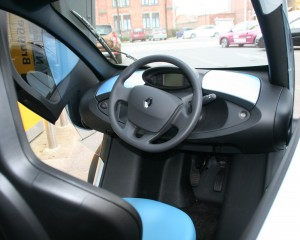 Renault Twizy Streering Wheel Photo