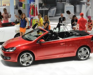 Volkswagen Golf Cabriolet Side View