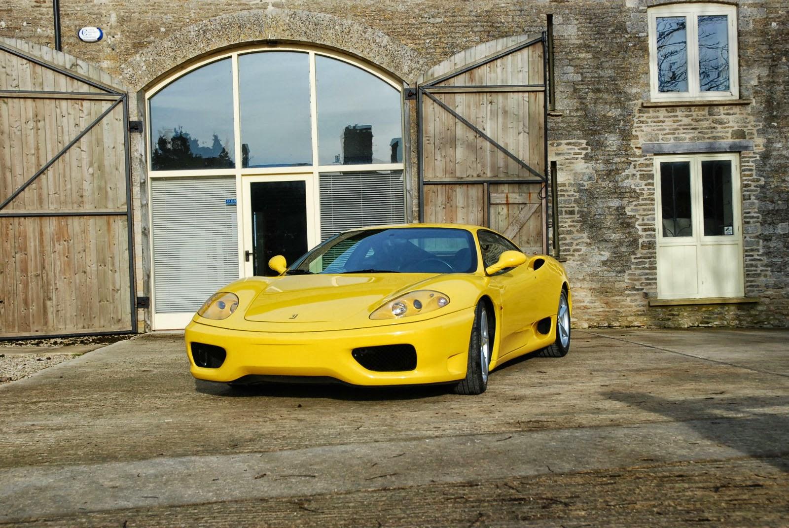 Exterior Preview: 2001 Ferrari 360 Modena