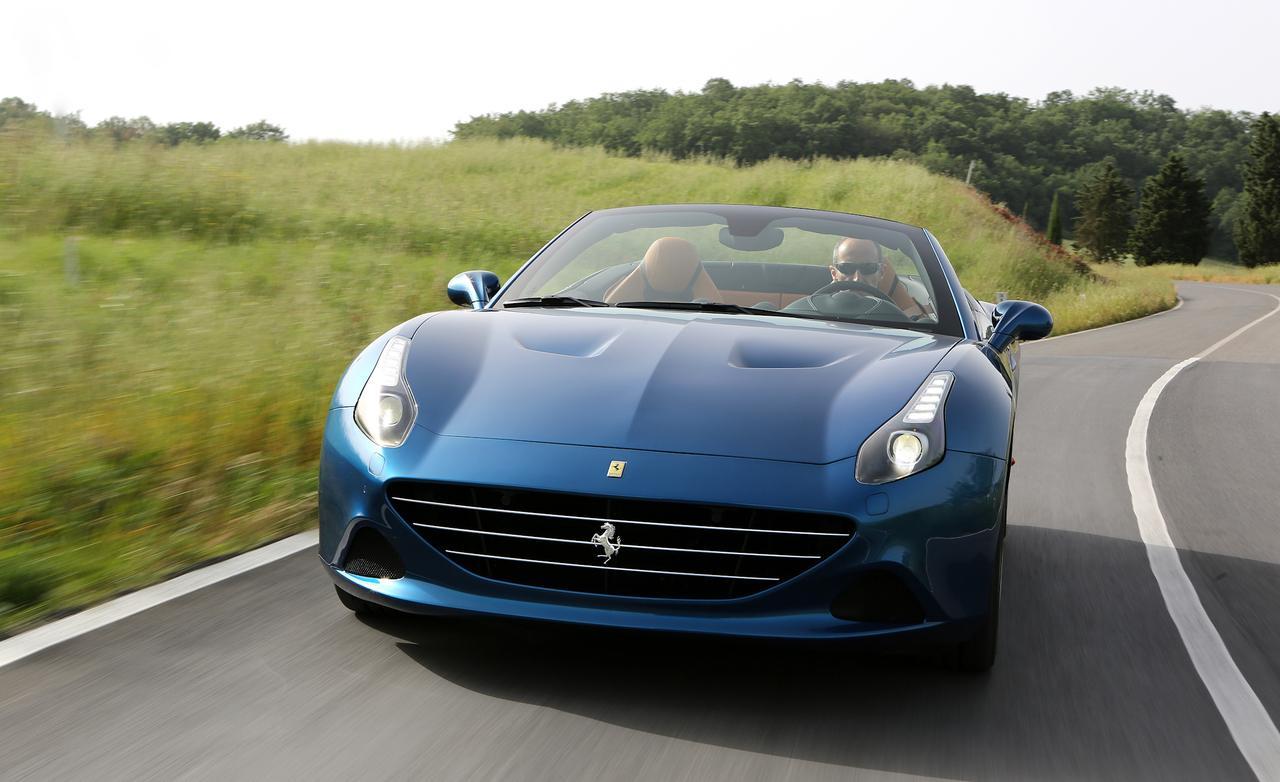 Front Design: 2015 Ferrari California T