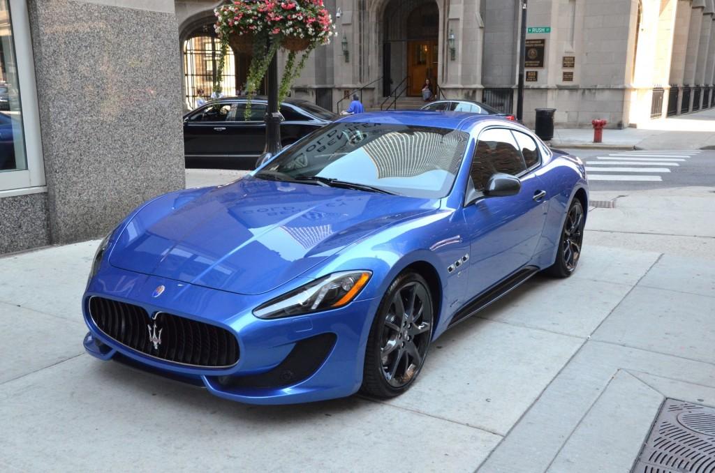 Maserati granturismo blue - photo#5