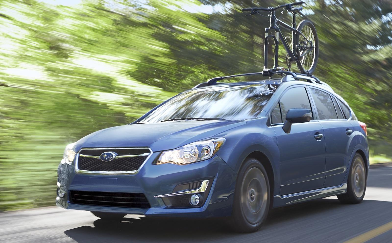 Test Drive Review 2015 Subaru Impreza 5148 Cars Performance Alternator Wiring Diagram