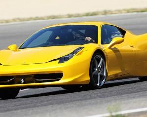 (Yellow) 2015 Ferrari 458 Italia