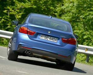 2015 BMW 428i Gran Coupe M Sport Exterior Rear