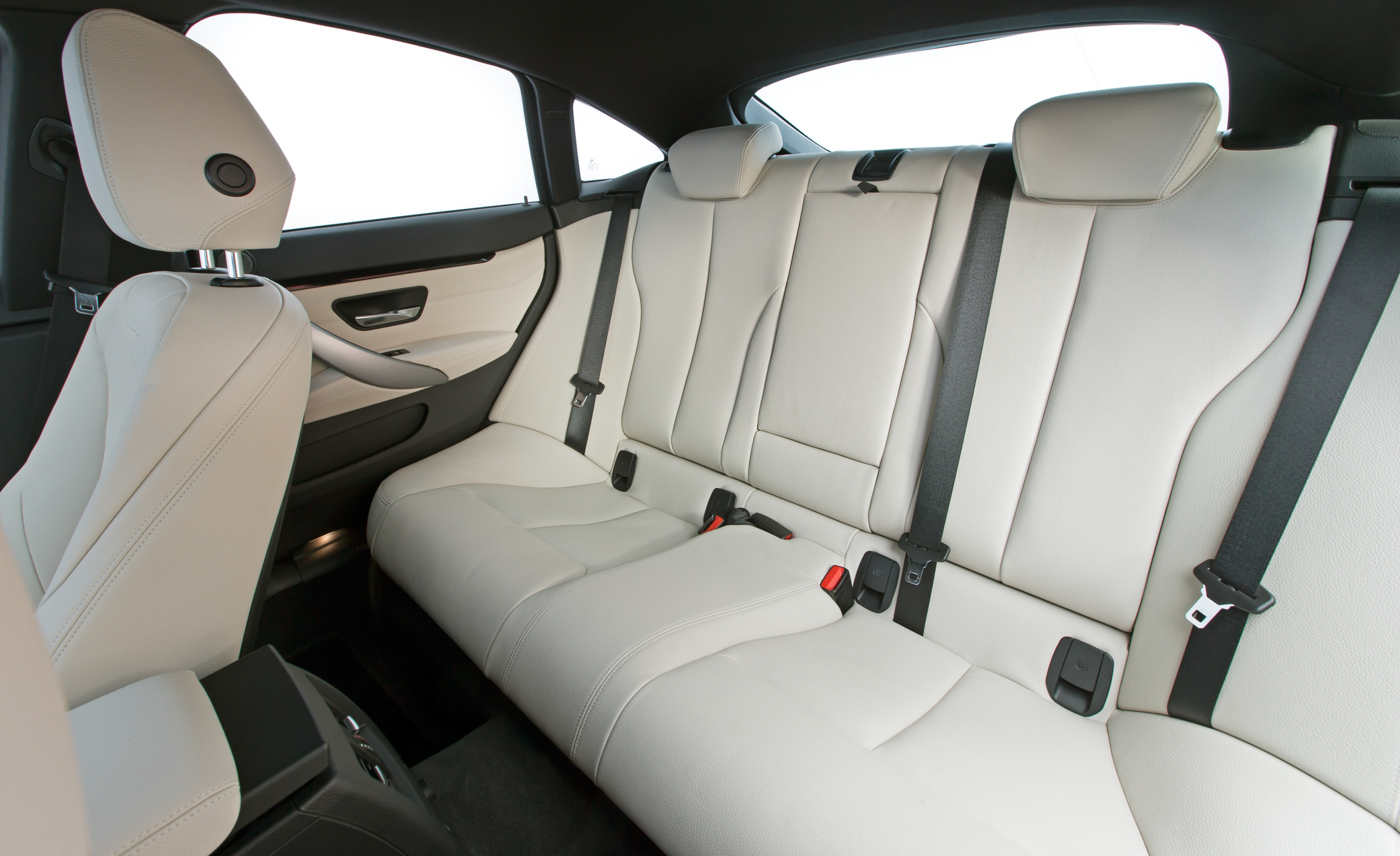 2015 BMW 428i Gran Coupe Interior Rear Seats