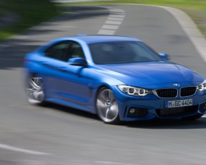 2015 BMW 428i Gran Coupe Test Cornering