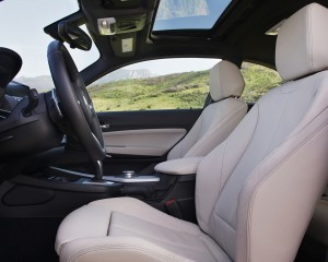 2015 BMW M235i xDrive Interior Front Seats