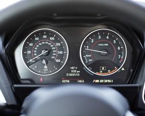 2015 BMW M235i xDrive Interior Speedometer