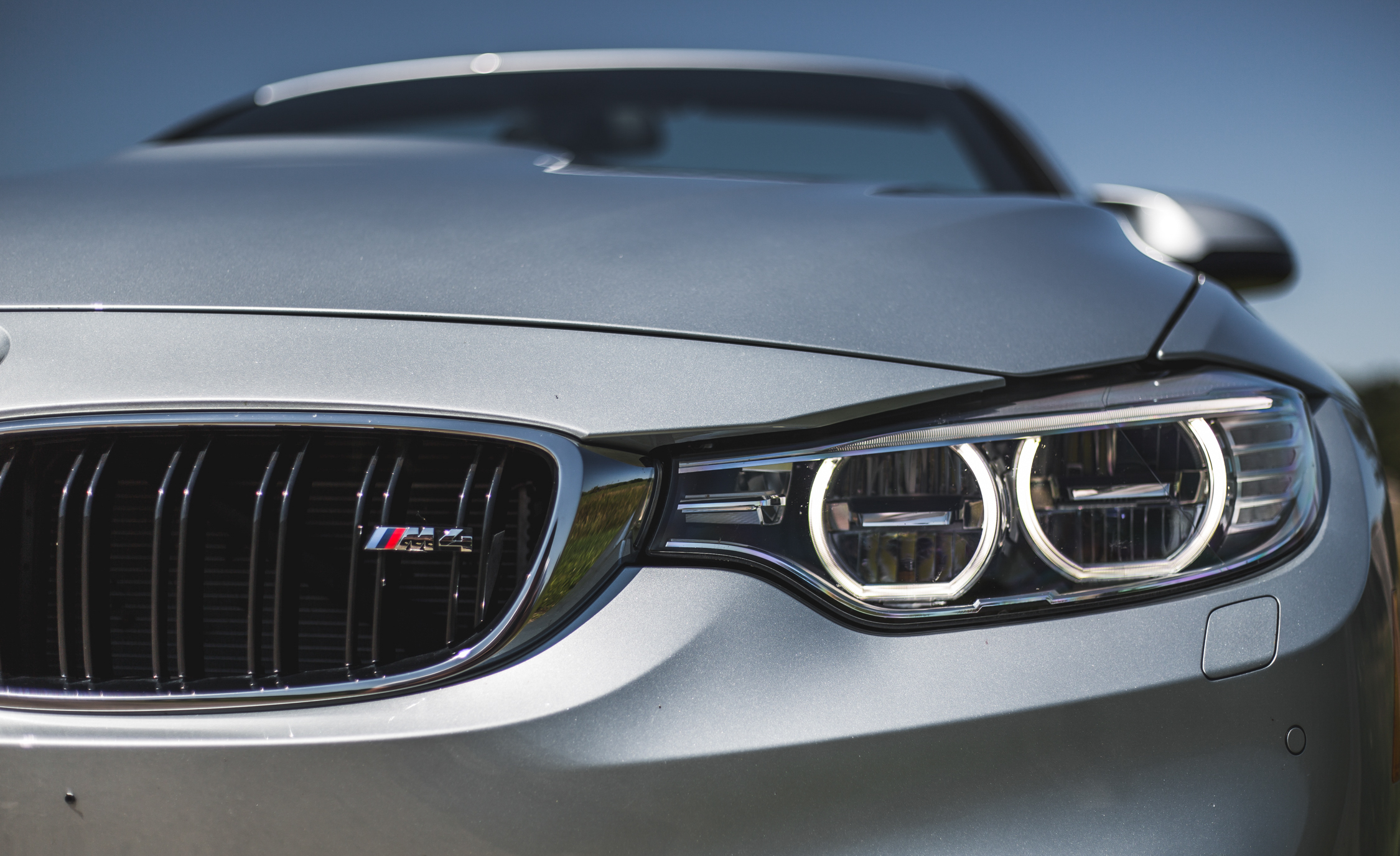 2015 BMW M4 Convertible Exterior Headlight
