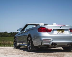 2015 BMW M4 Convertible Exterior Rear
