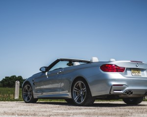 2015 BMW M4 Convertible Exterior Rear and Side