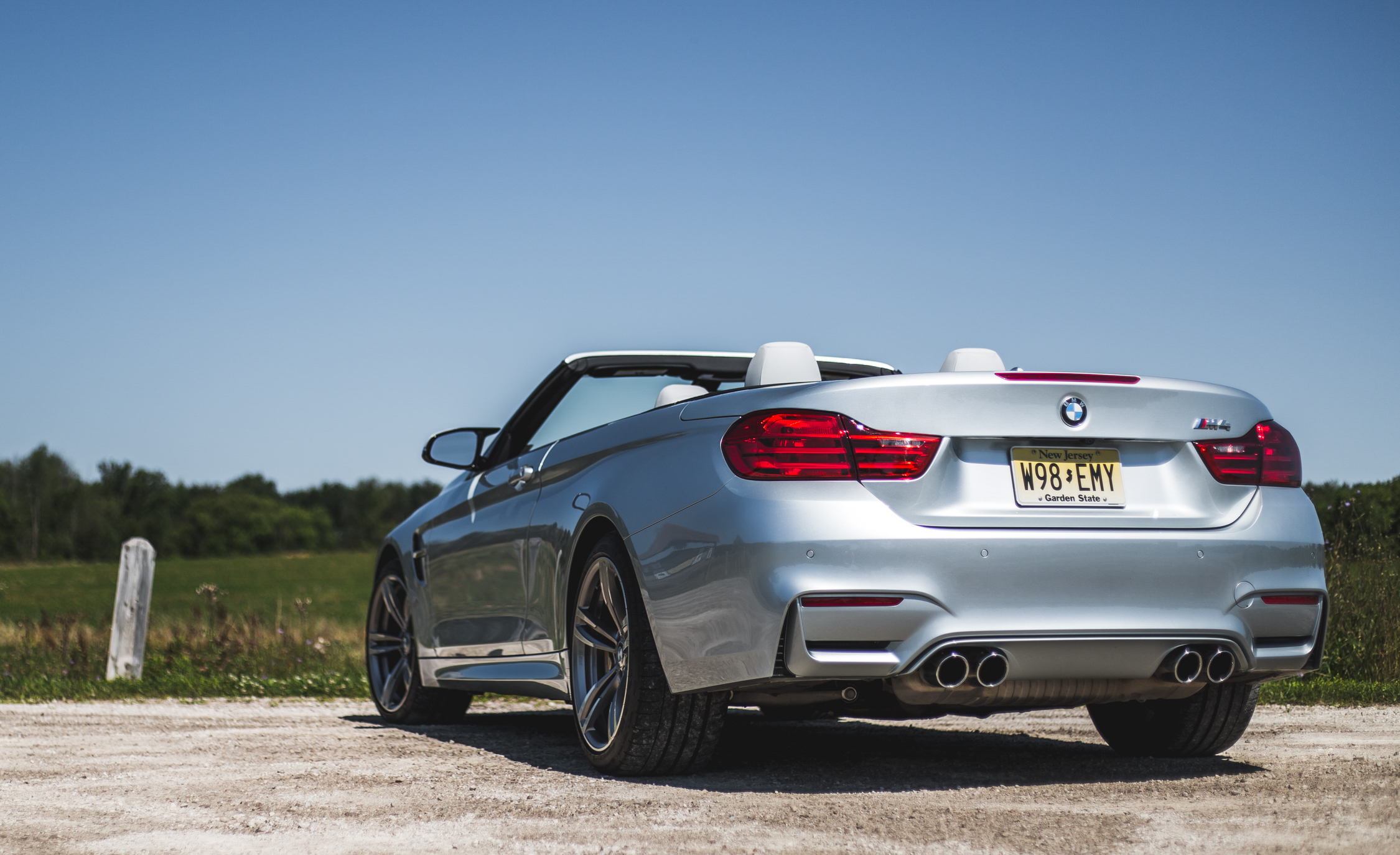 2015 BMW M4 Convertible Exterior Rear