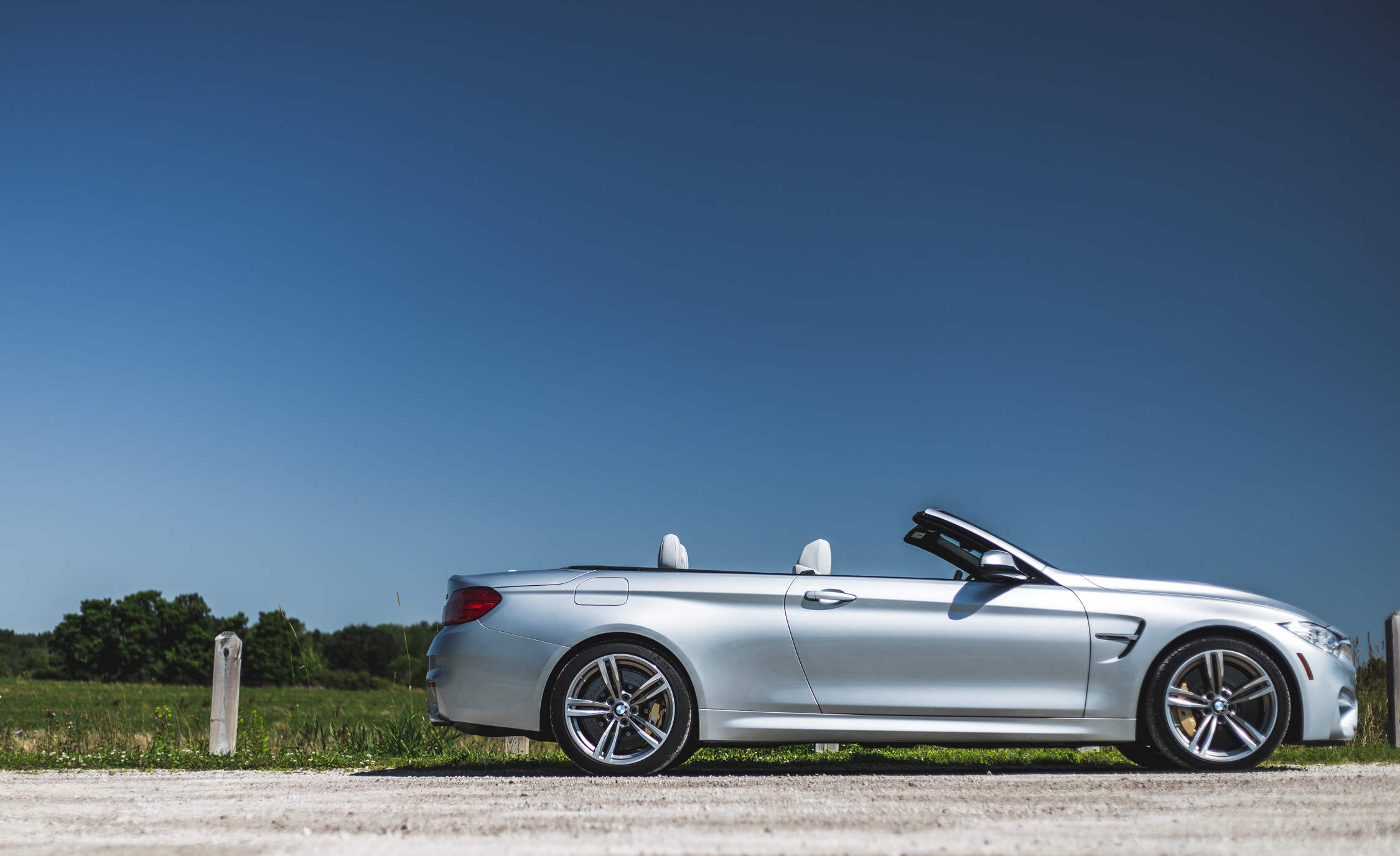 2015 BMW M4 Convertible Exterior Side