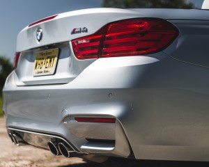 2015 BMW M4 Convertible Exterior Taillight