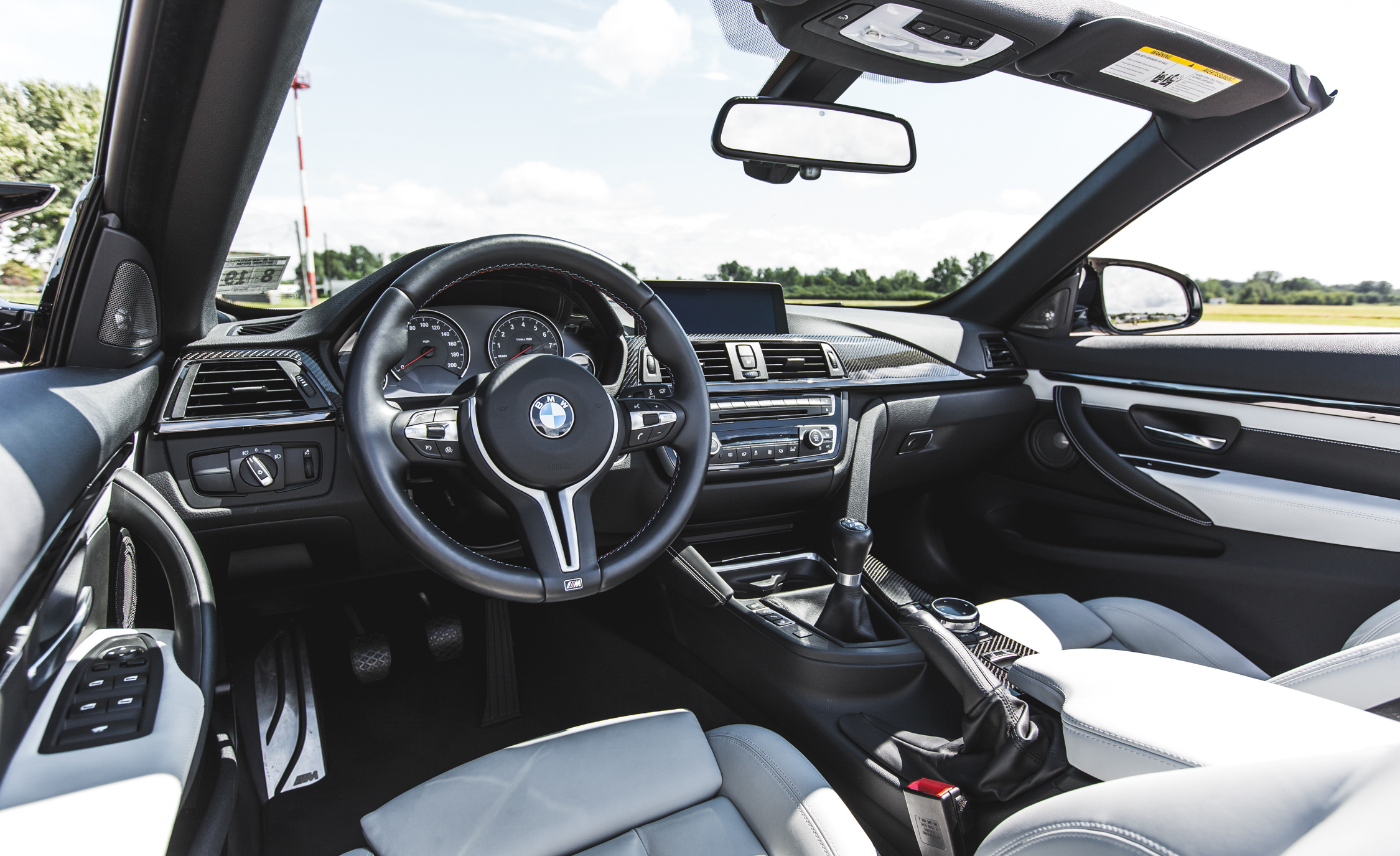 2015 BMW M4 Convertible Interior Cockpit And Dashboard