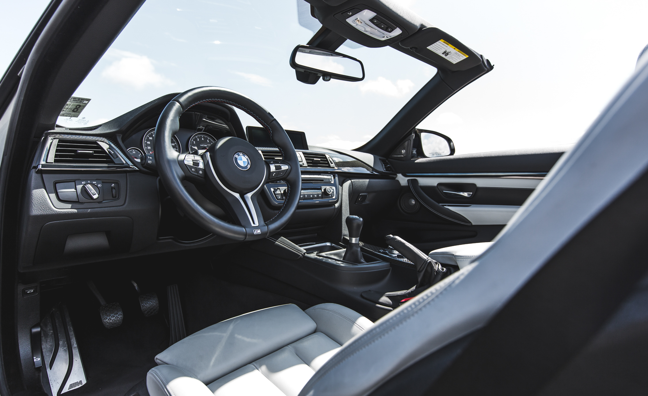 2015 BMW M4 Convertible Interior Cockpit