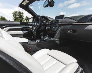 2015 BMW M4 Convertible Interior Front Passenger Dash