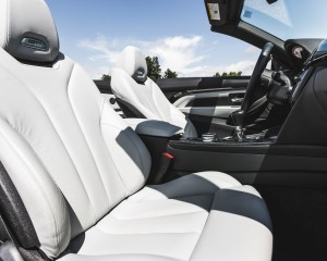 2015 BMW M4 Convertible Interior Front Passenger Seat