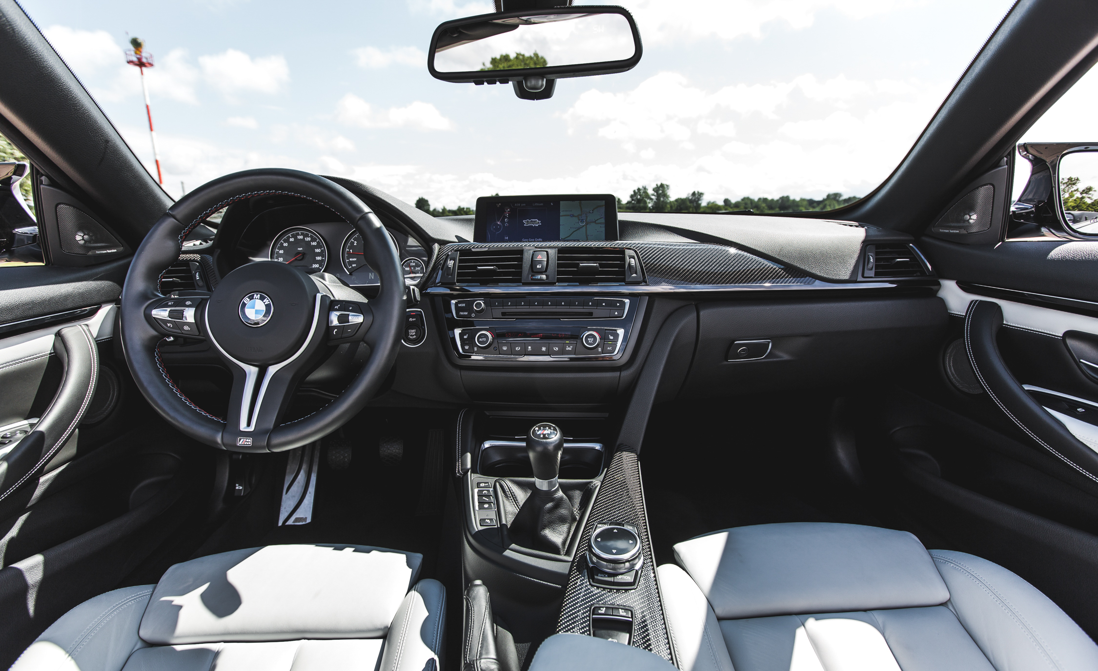 2015 BMW M4 Convertible Interior