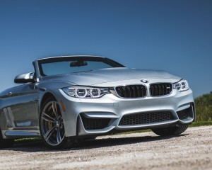 2015 BMW M4 Convertible Top Down Exterior