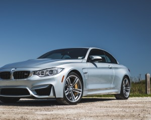 2015 BMW M4 Convertible Top Up Exterior