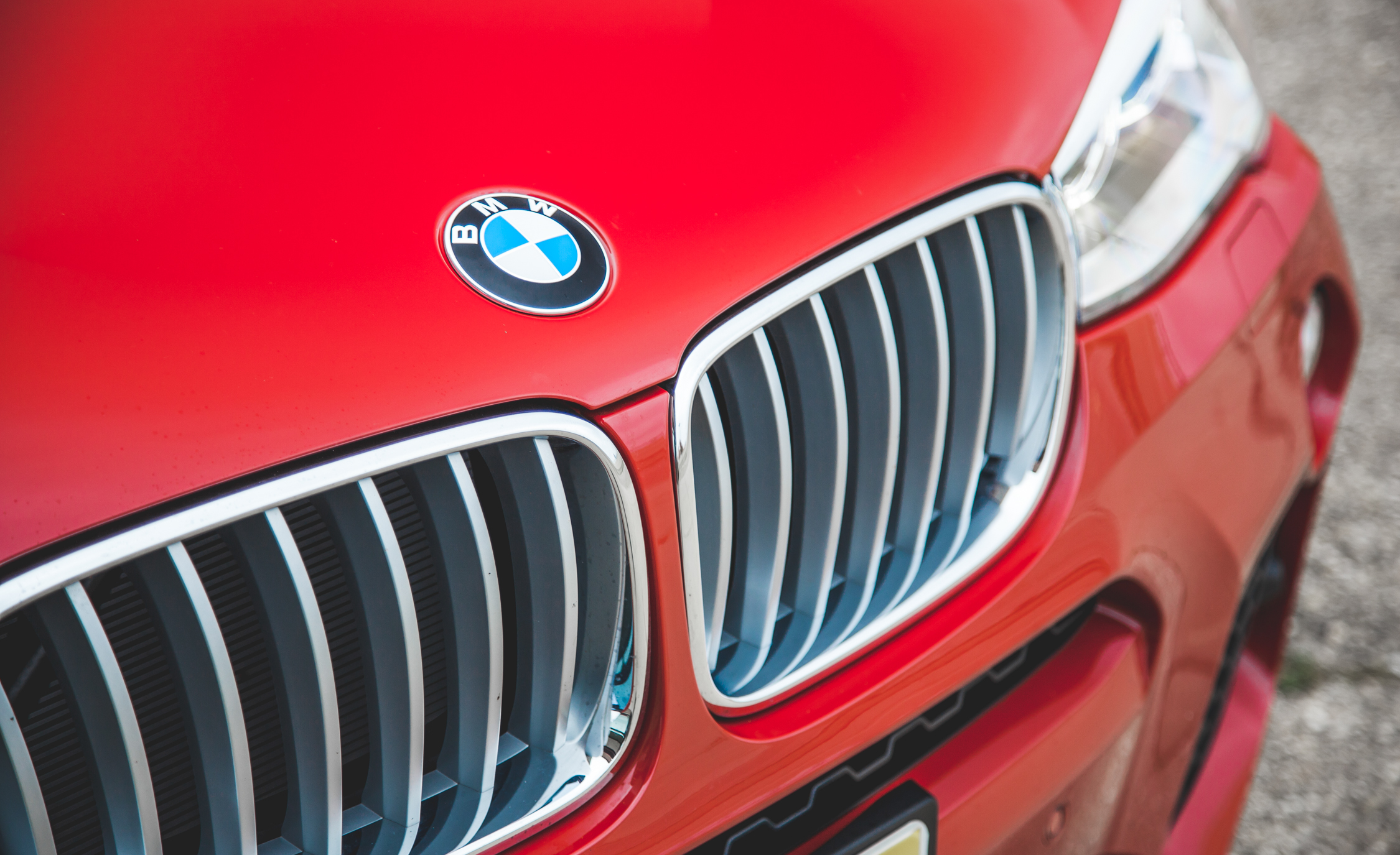 2015 BMW X4 xDrive28i Exterior Grille