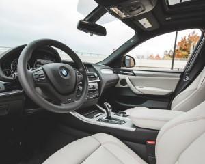 2015 BMW X4 xDrive28i Interior