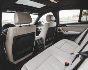 2015 BMW X4 xDrive28i Interior Rear