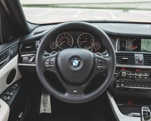 2015 BMW X4 xDrive28i Interior Steering