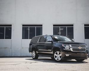 2015 Chevrolet Suburban LTZ Exterior Body