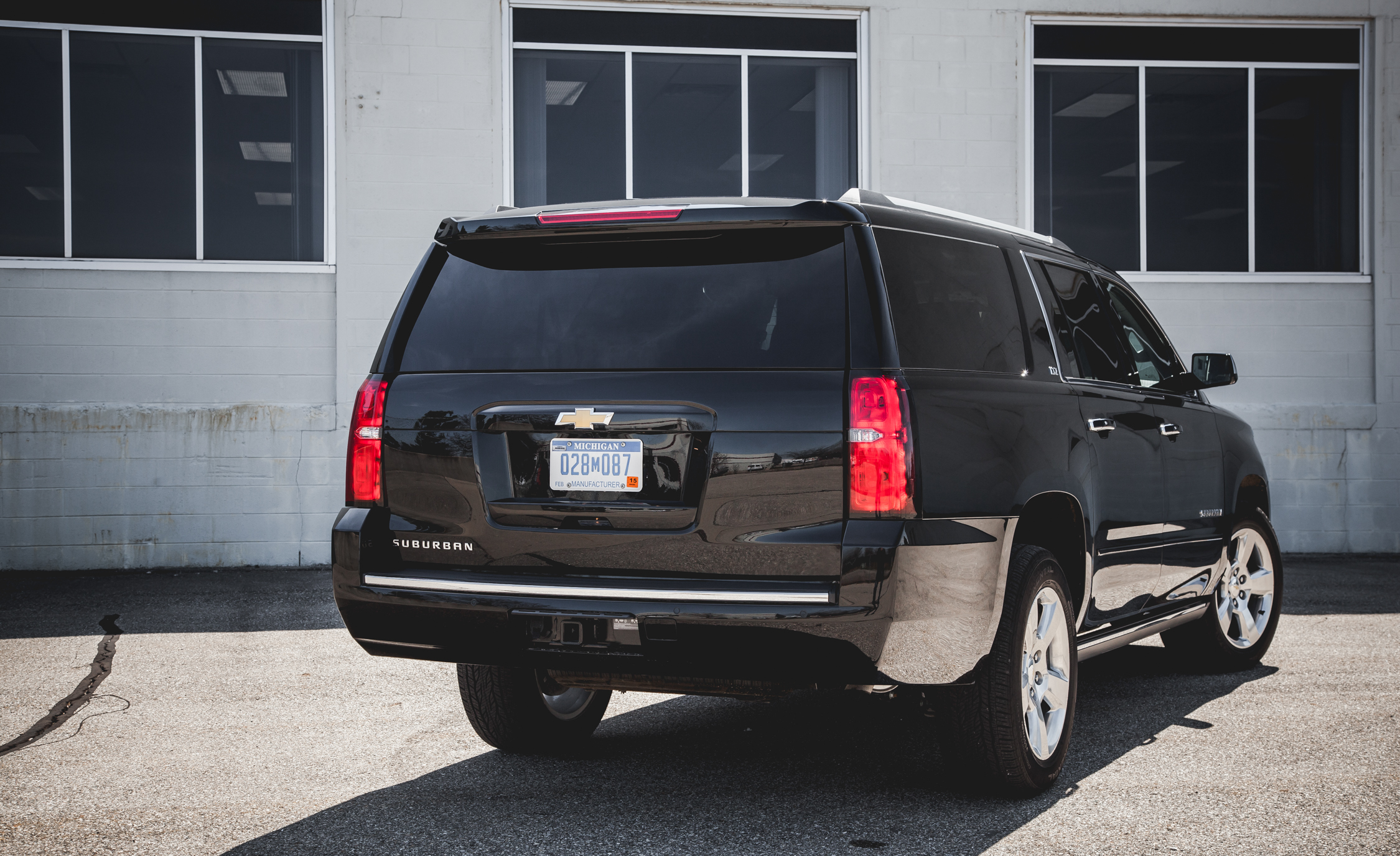 2015 Chevrolet Suburban LTZ Exterior Body Rear