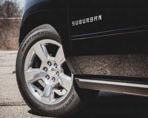 2015 Chevrolet Suburban LTZ Exterior Wheel