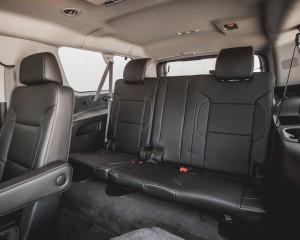 2015 Chevrolet Suburban LTZ Interior 3rd Row Passenger Seats