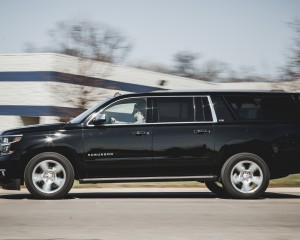 2015 Chevrolet Suburban LTZ Test Side View